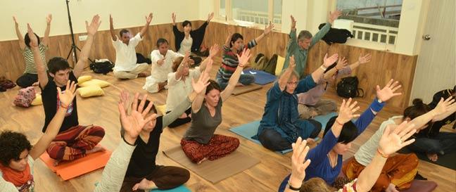 Yoga Classes in Rishikesh